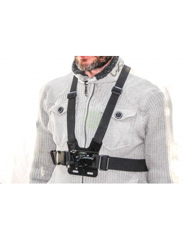 Deluxe Chesty Harness For GoPro & Action Cameras