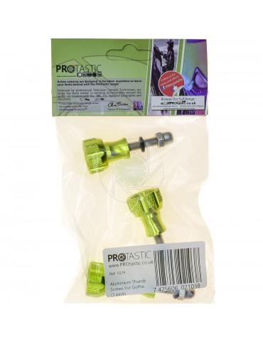 For GoPro /& Action Cameras Aluminium Thumb Screws 3 pack