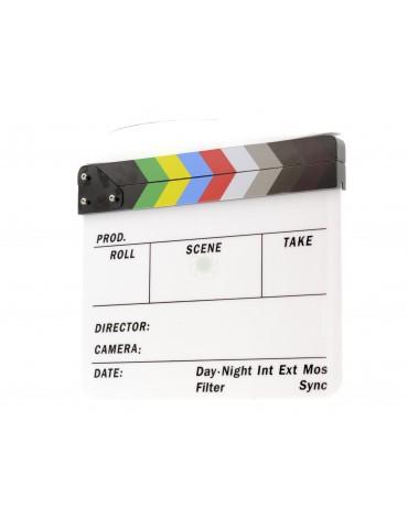 Perspex Dry Wipe Clapper Board