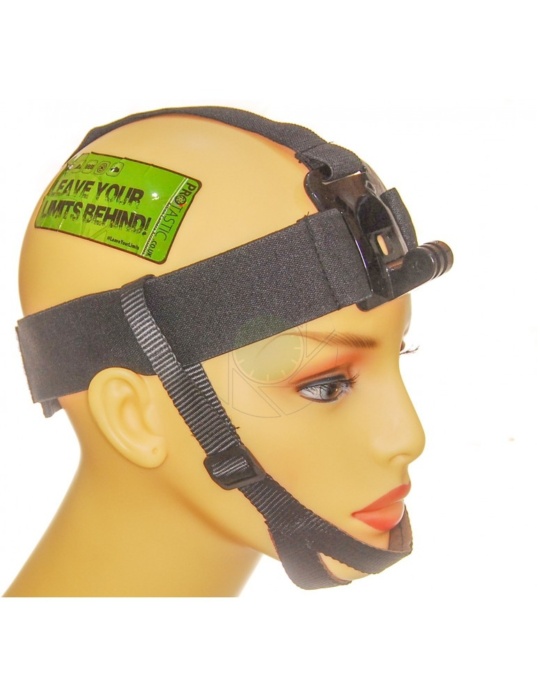 Head Mount With Chin Strap