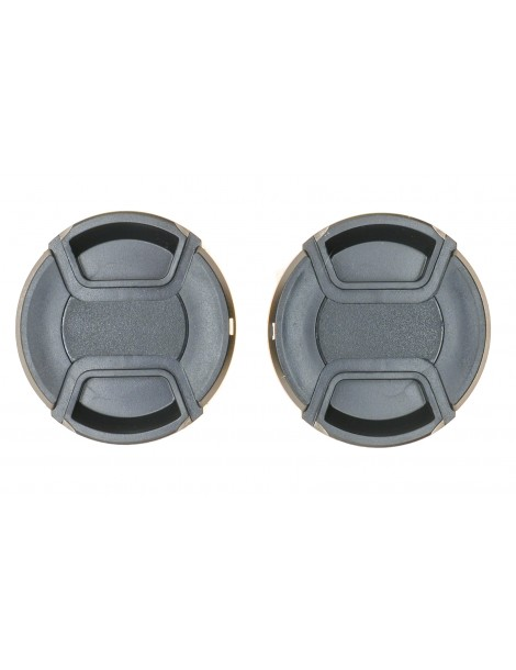 PROtastic Spring Loaded Pinch 58mm Lens Caps (Pack Of 2)