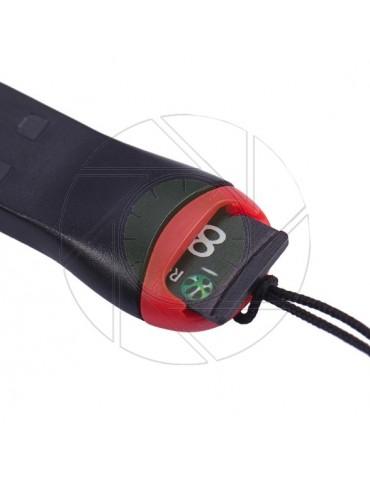 2x USB2.0 MicroSD Mini SD Memory Card Reader Keyring