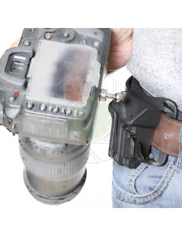 Camera Locking Waist Belt Buckle