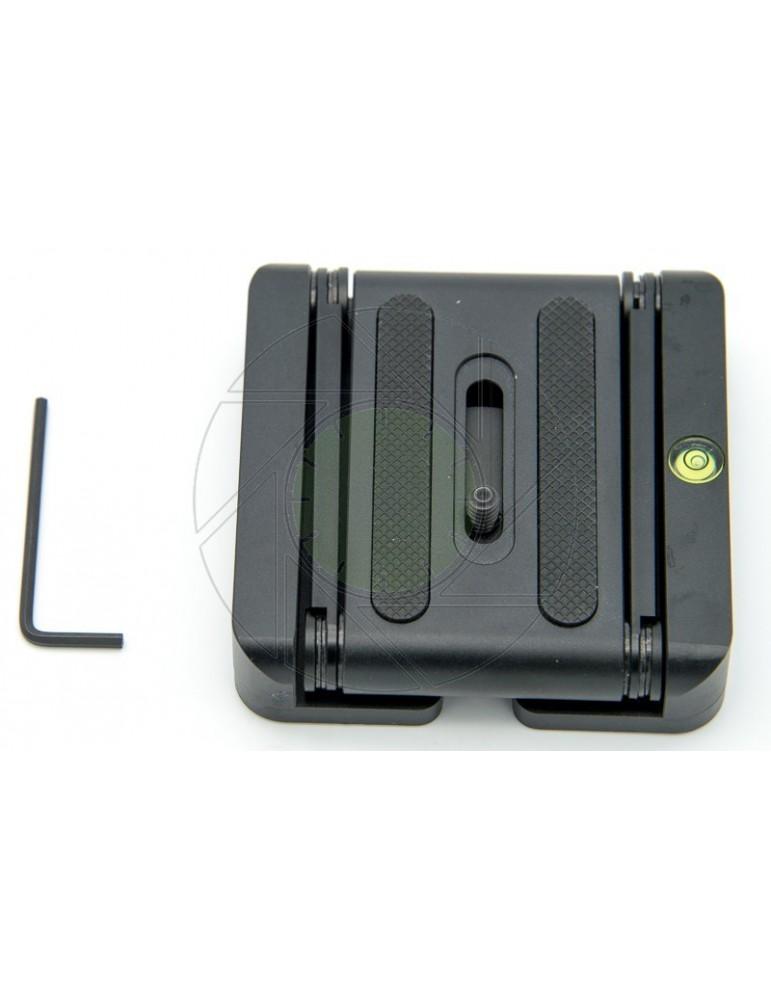 Z Type Multifunctional Foldable Head Desktop Bracket Head Stand Holder Quick Release Plate For Camera Tripod Rail Car