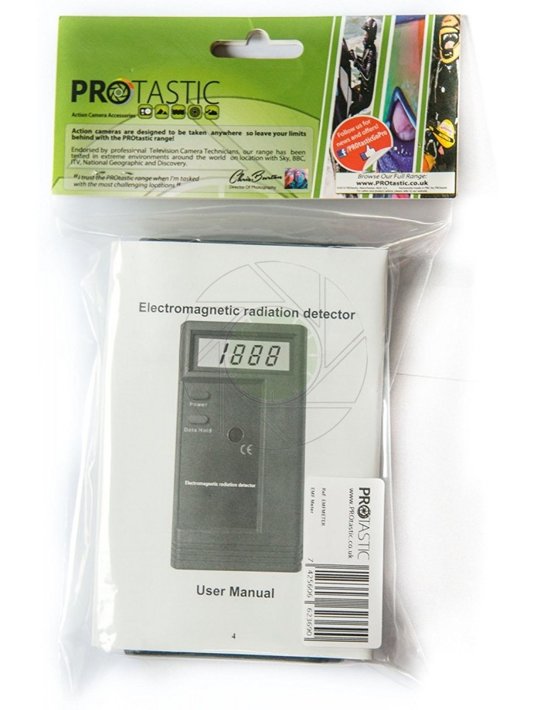 PROtastic EMF Meter Extra Sensitive for Paranormal & Ghost Hunting