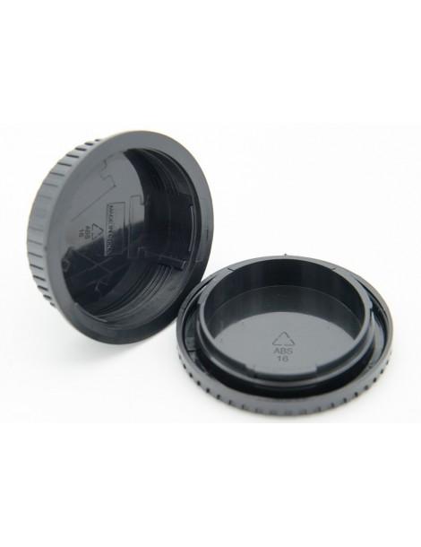 Rear Lens Cap & Body Cap For Canon DSLR EF (RF-3 / 2723A001)