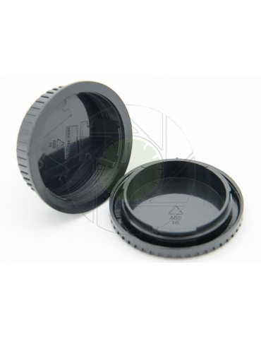 Rear Lens Cap & Body Cap For Canon DSLR EF (RF-3 / 2723A001)