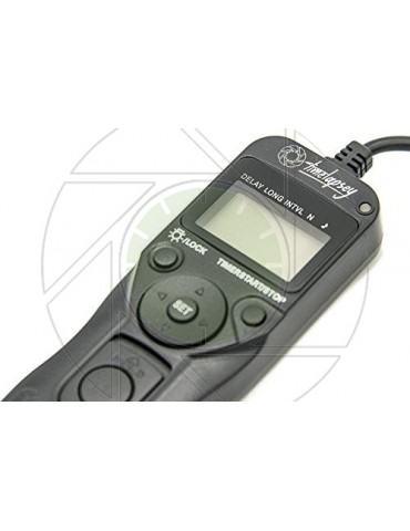 DSLR Intervalometer / Timer Shutter Release for Time-lapse Photography + Astro Long Exposure (Nikon DC2 Cable)